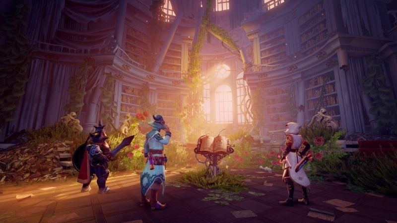 Trine 4: The Nightmare Prince; screenshot: sešlost hrdinů