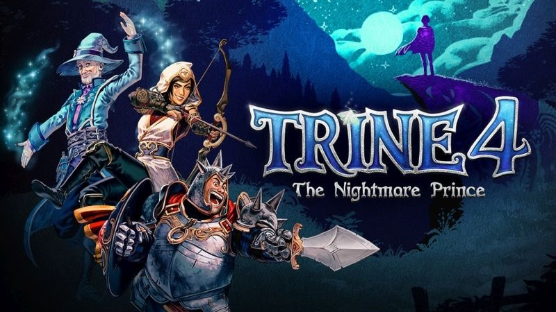 Trine 4: The Nightmare Prince; wallpaper: cover