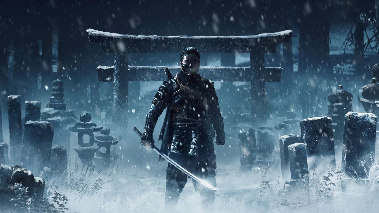 Nejočekávanější hry v roce 2019; Ghost of Tsushima, screenshot: samurai