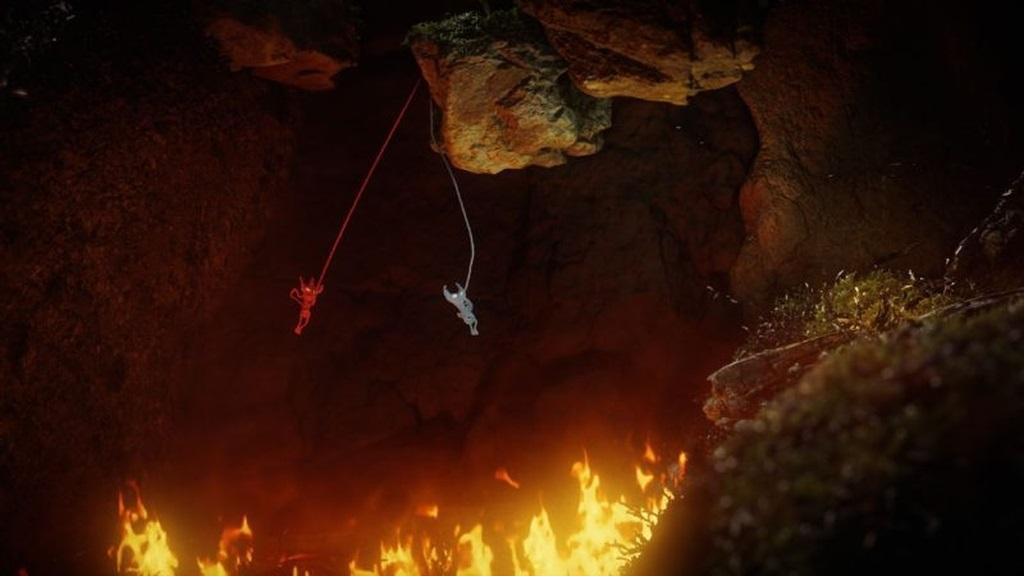 Nejlepší hry; Unravel Two; screenshot: nebezpečí