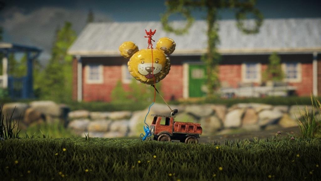 Nejlepší hry; Unravel Two; screenshot: spolupráce
