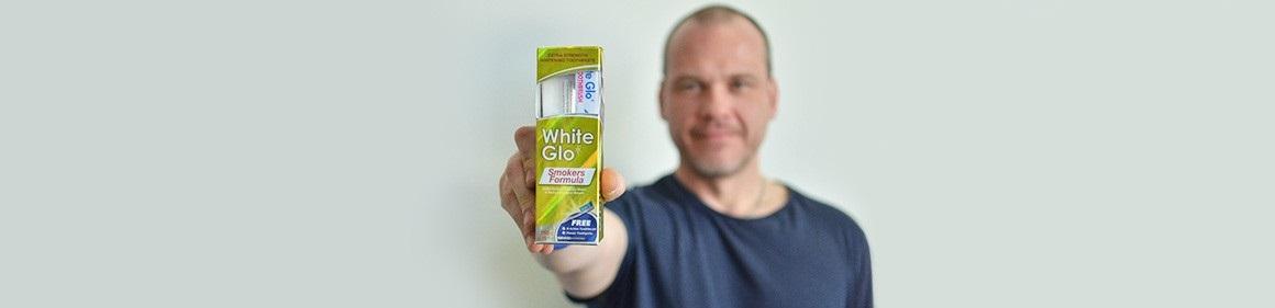 Zubní pasta WHITE GLO Smokers