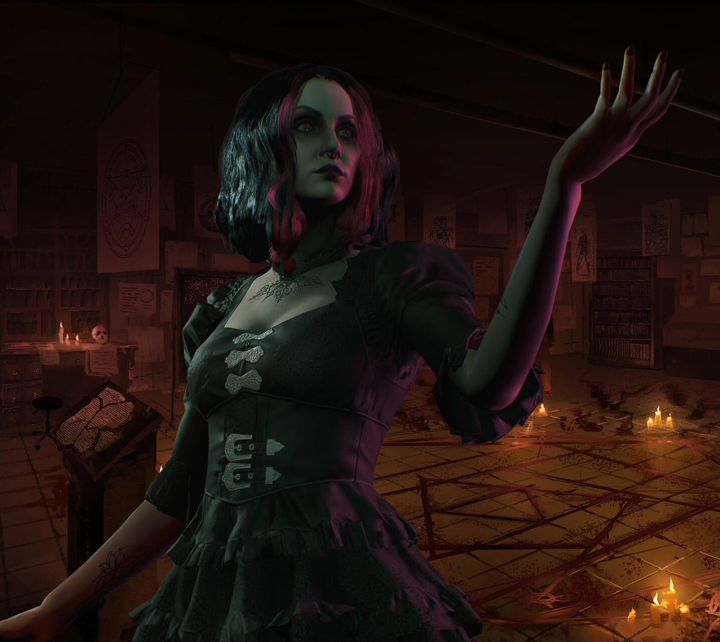 Vampire: The Masquerade – Bloodlines 2; screenshot: Tremere