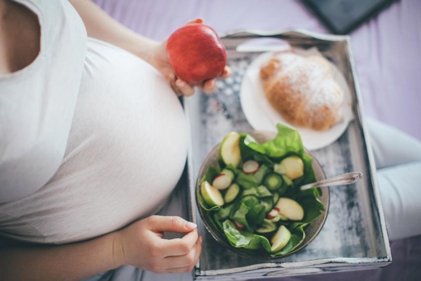 Dostatek zeleniny v těhotenství