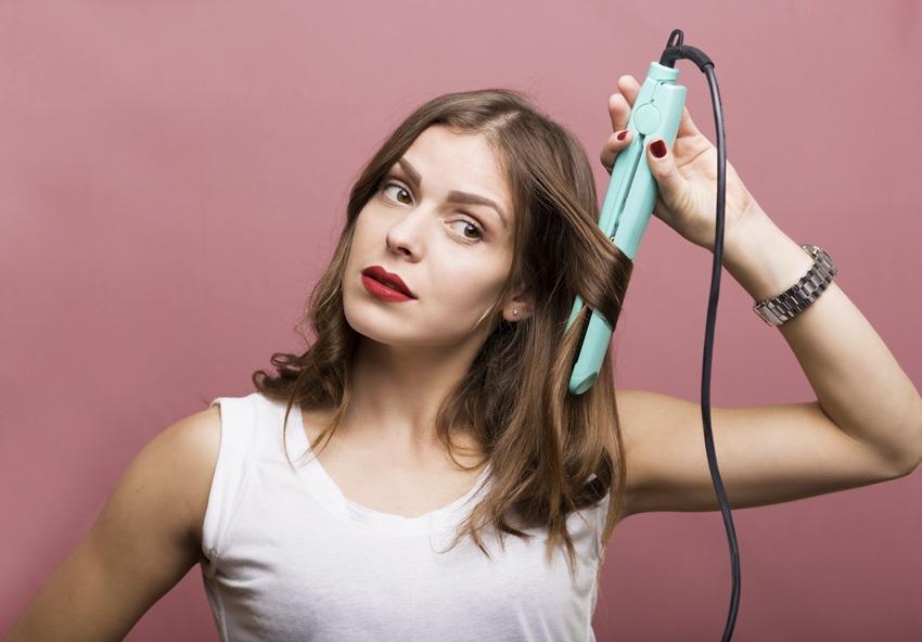 Jak udělat vlny žehličkou na vlasy   2647add68be
