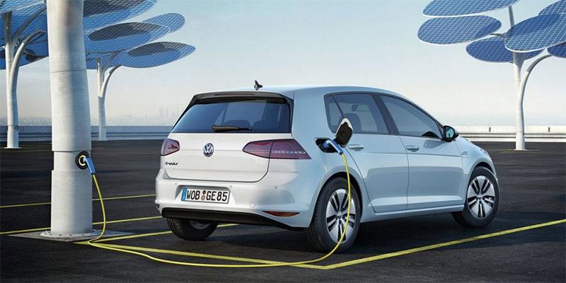 VW e-Golf 2017;  fotovoltaické články
