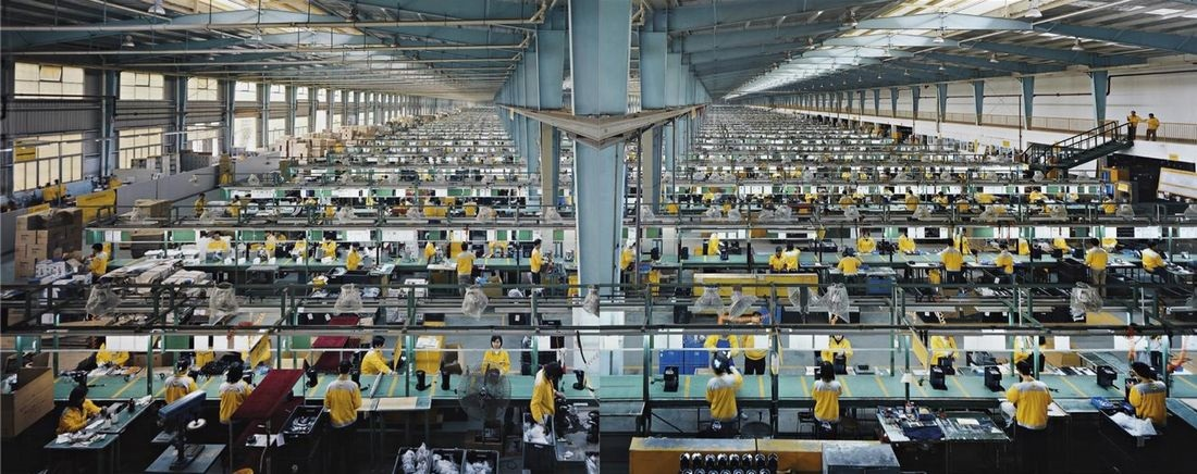 Výroba laptopu
