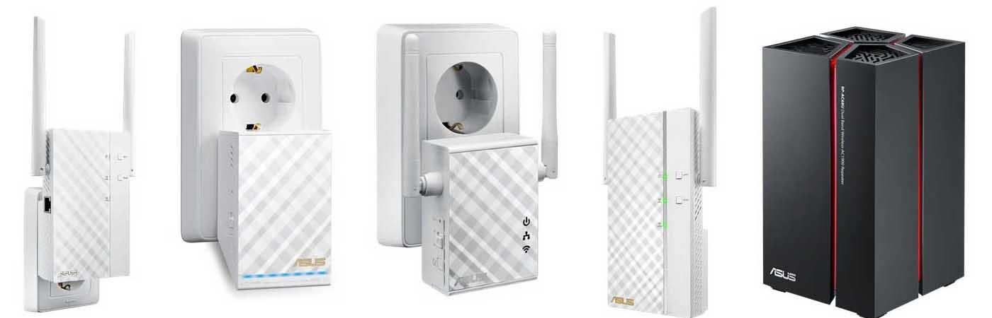 WiFi extendery Asus rozšíří dosah vaší sítě WiFi