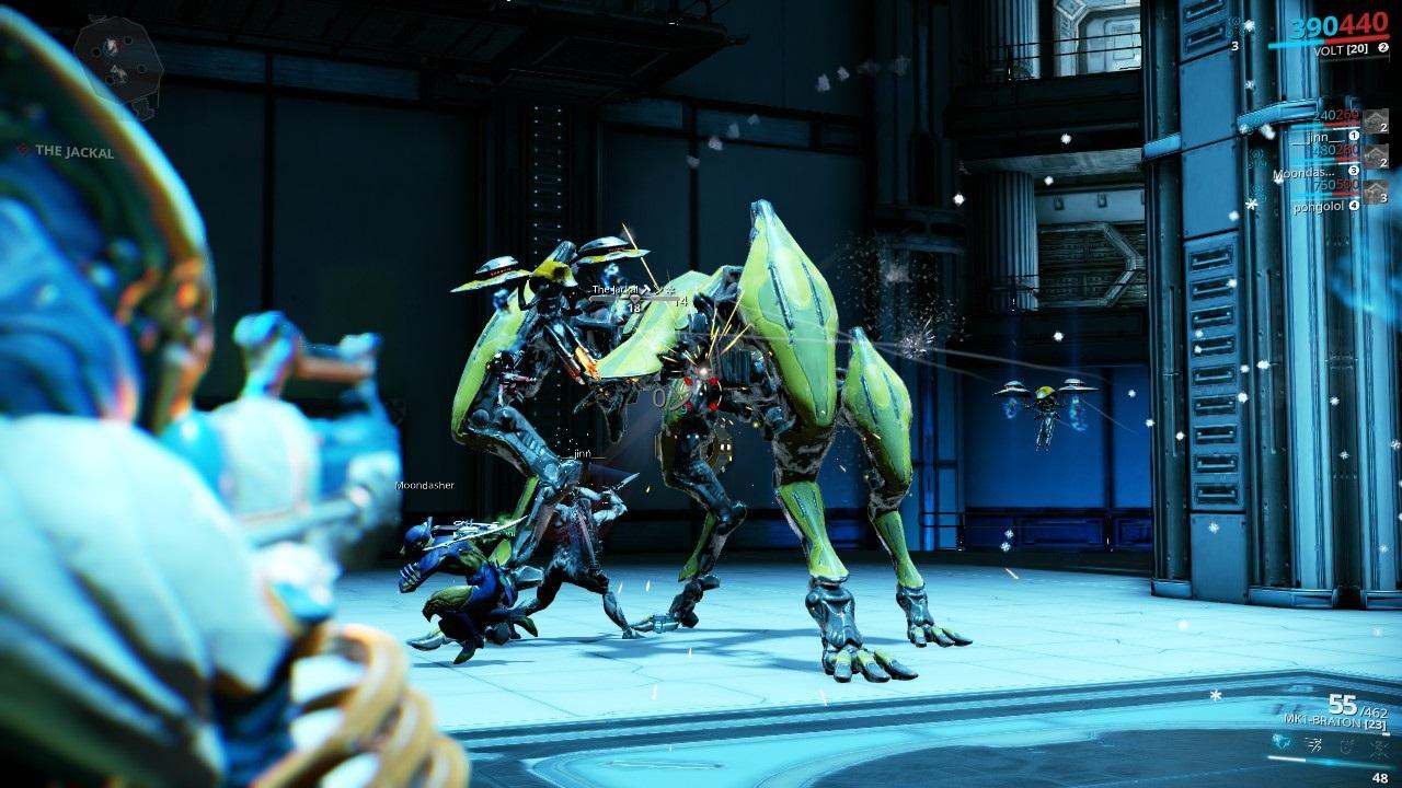 Warframe; gameplay: boss