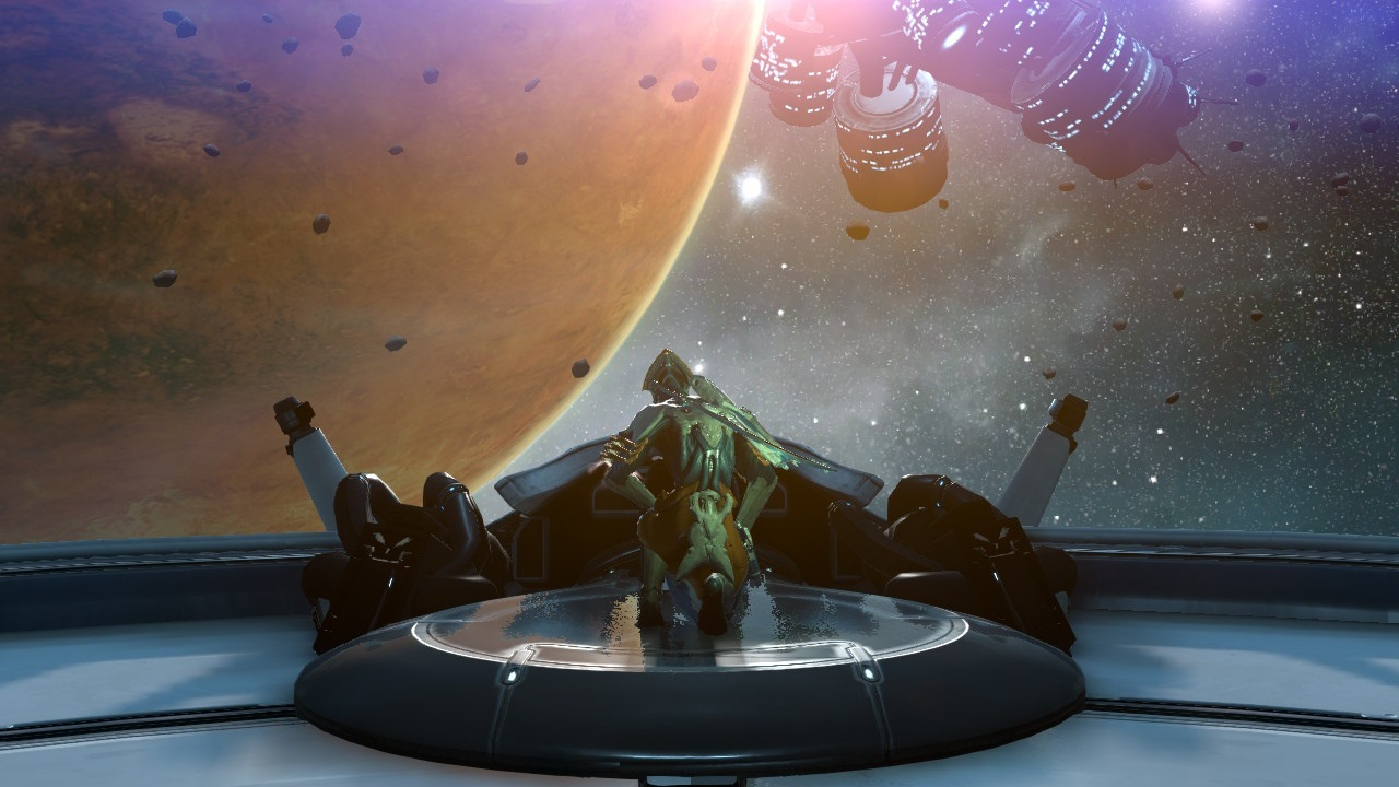 Warframe; gameplay: grafika