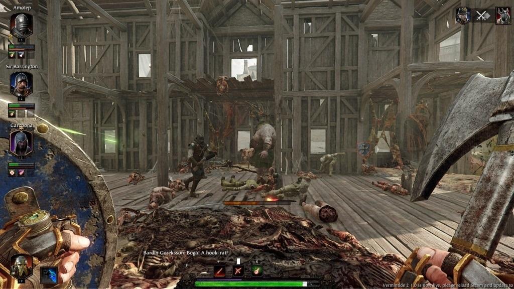 Nejlepší hry; Warhammer: Vermintide 2; Gameplay: mág