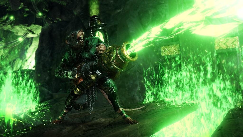Warhammer: Vermintide 2; Skaven, warpfire
