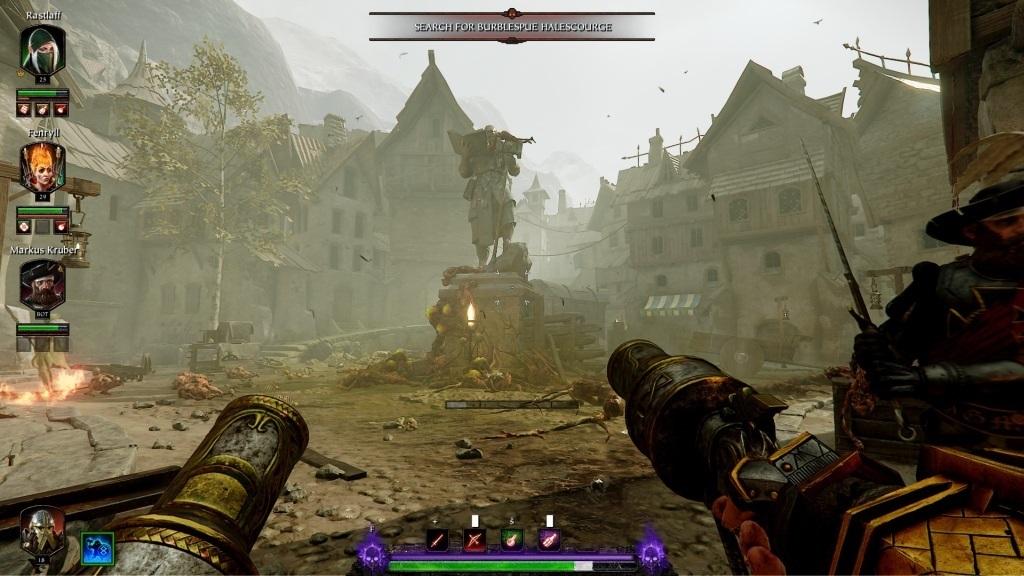 Nejlepší hry; Warhammer: Vermintide 2; Gameplay: zamořené náměstí