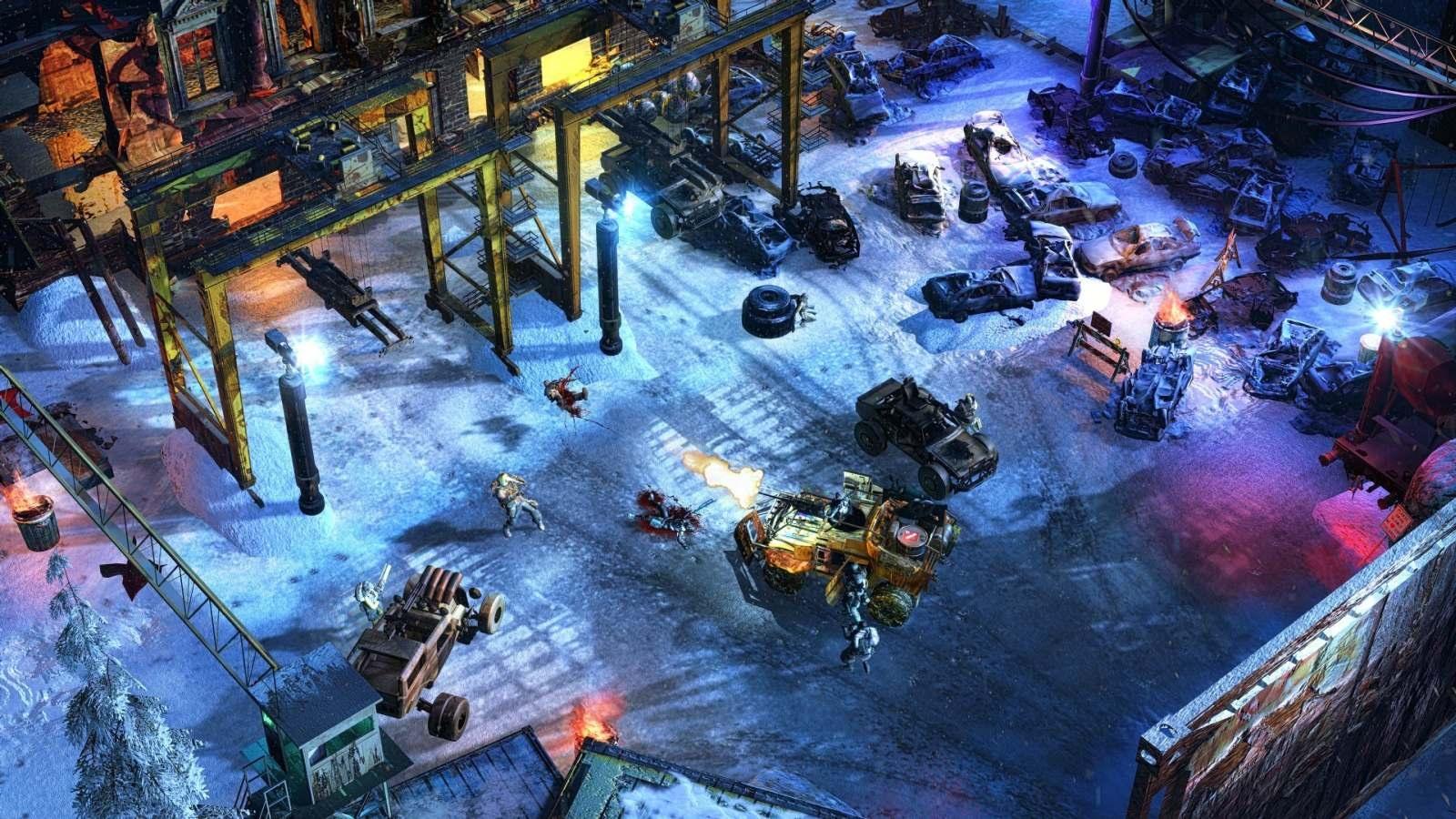 Wasteland 3; screenshot: auto