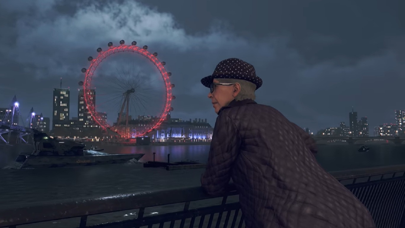 Watch Dogs Legion; screenshot: babička