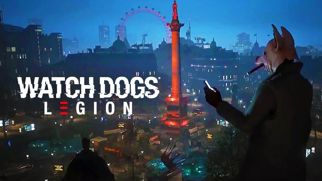 Watch Dogs Legion; wallpaper: odklad