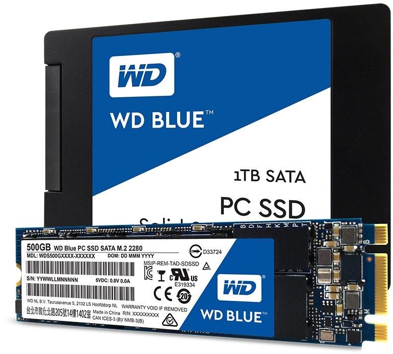 WD Blue™ jsou SSD disky pro náročné