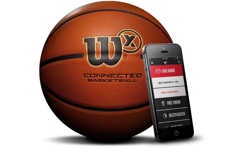 Wilson X Connected; chytrý basketbalový míč