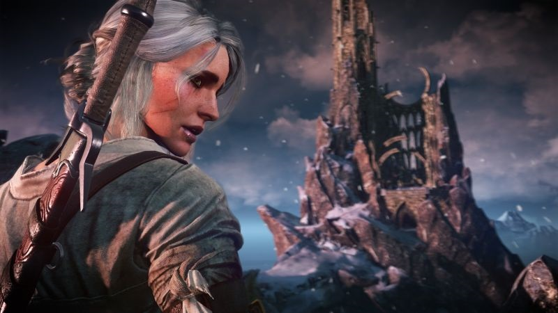 Witcher; wallpaper: Ciri