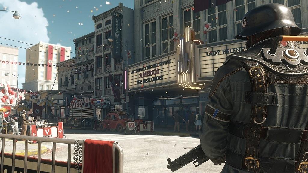 Wolfenstein II: The New Colossus: Amerika, nacisté