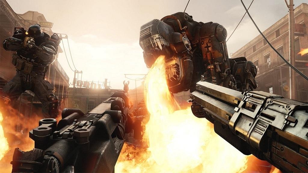 Wolfenstein 2: The New Colossus; Machines and fire, panzerhund