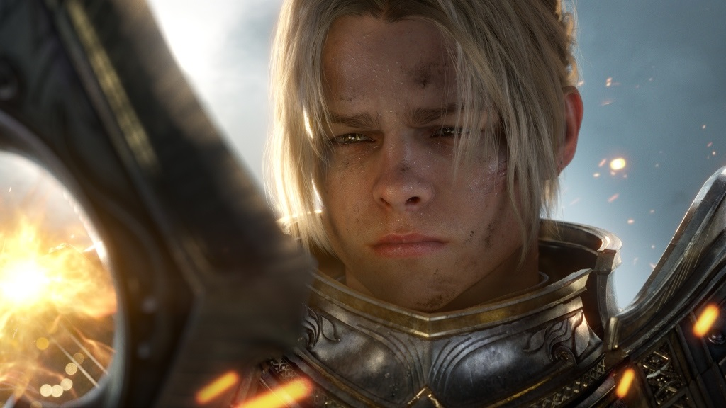 World of Warcraft: Battle for Azeroth; gameplay: Anduin