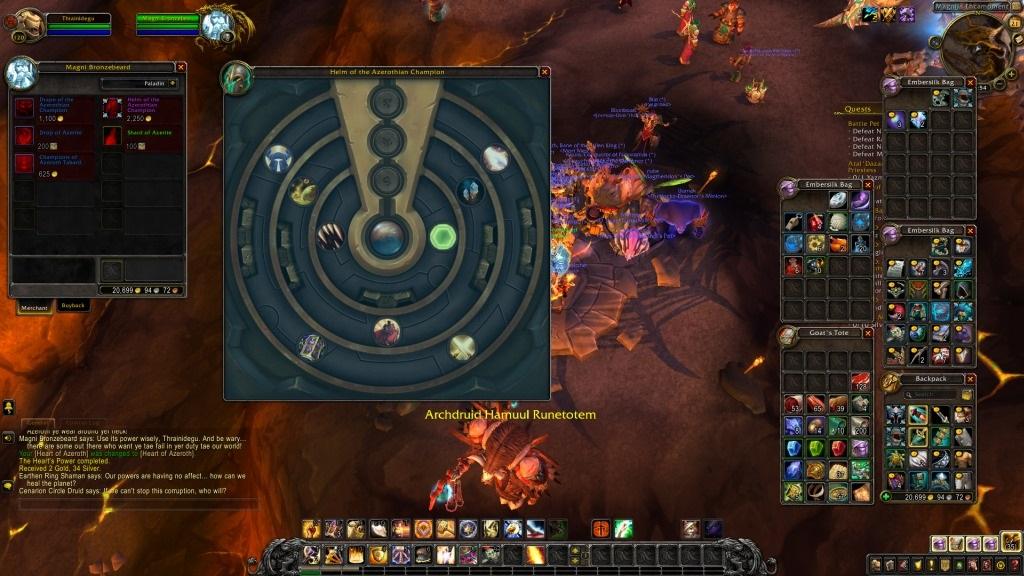 Nejlepší hry; World of Warcraft: Battle for azeroth; screenshot: Azerit