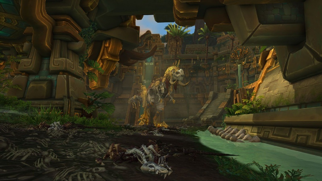 World of Warcraft: Battle for Azeroth; Gameplay: Dinosauři