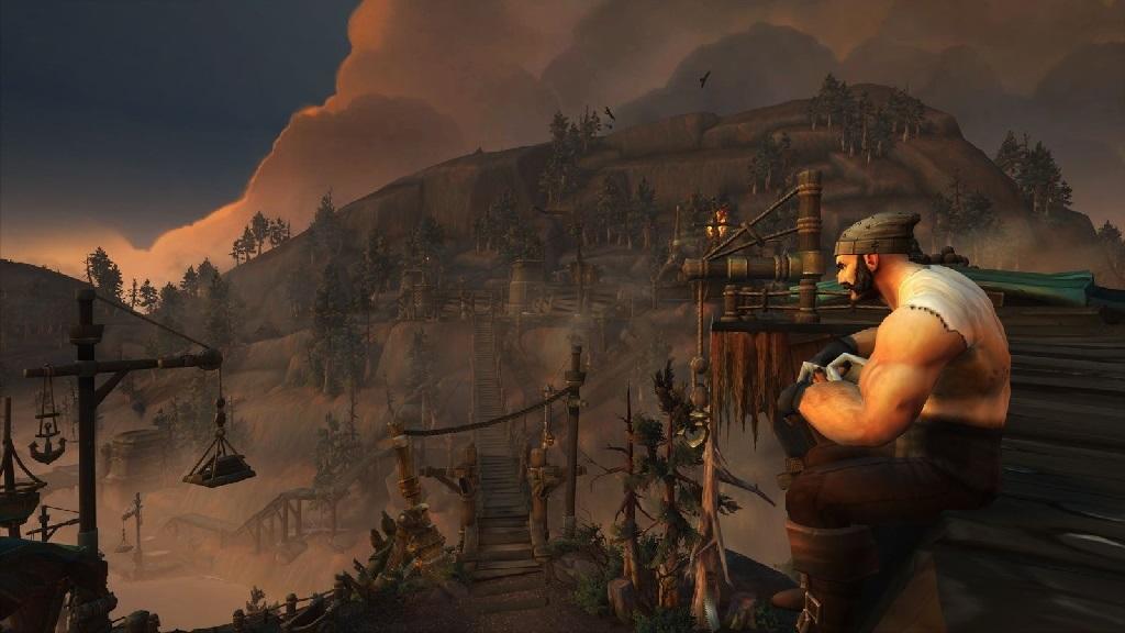 World of Warcraft: Battle for Azeroth; Wallpaper: Důl