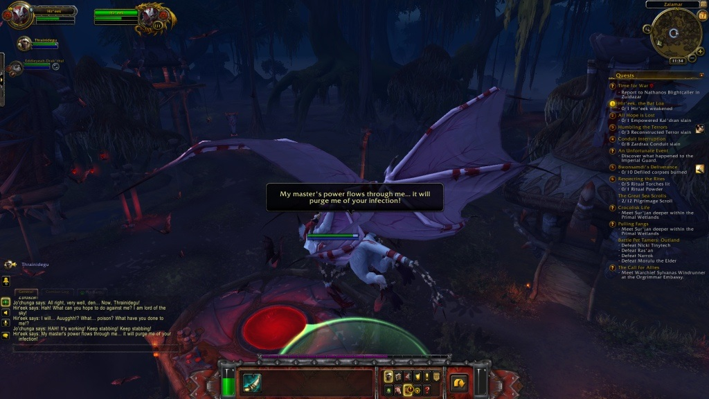 World of Warcraft: Battle for Azeroth; gameplay: Loa