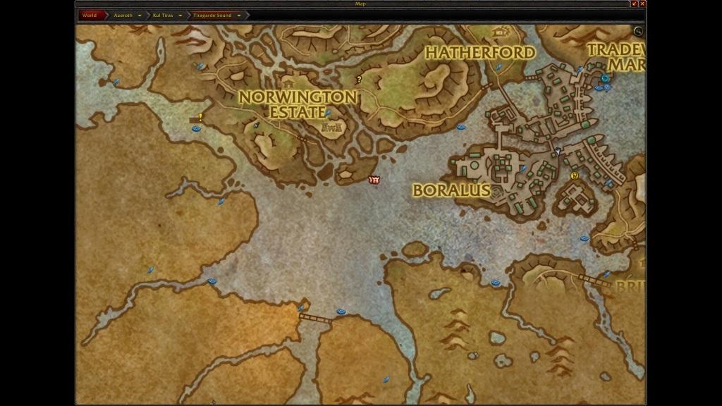 World of Warcraft: Battle for Azeroth; gameplay: lovná zvěř