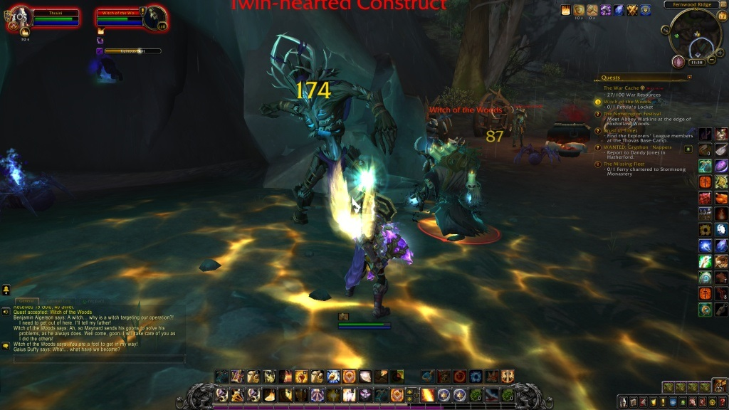 World of Warcraft: Battle for Azeroth; gameplay: monstra