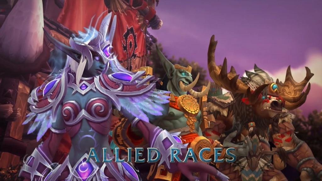 World of Warcraft: Battle for Azeroth; Wallpaper: nové rasy - Horda