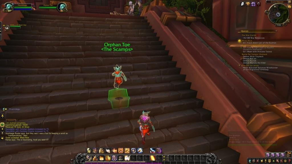 World of Warcraft: Battle for Azeroth; gameplay: převlek