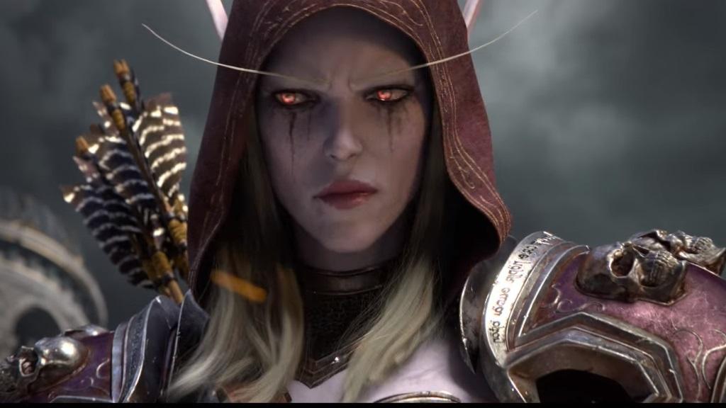 World of Warcraft: Battle for Azeroth; screenshot: Sylvanas