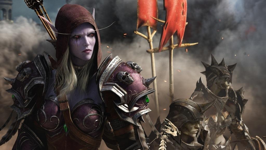 World of Warcraft: Battle for Azeroth; gameplay: Sylvanas