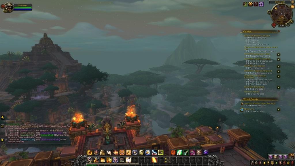 World of Warcraft: Battle for Azeroth; gameplay: Zandalárské hlavní město