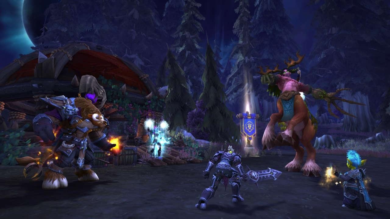 World of Warcraft: Battle for Azeroth; screenshot: Darkshore