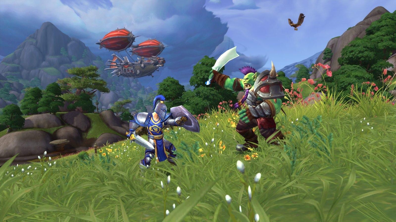 World of Warcraft: Battle for Azeroth; screenshot: invaze
