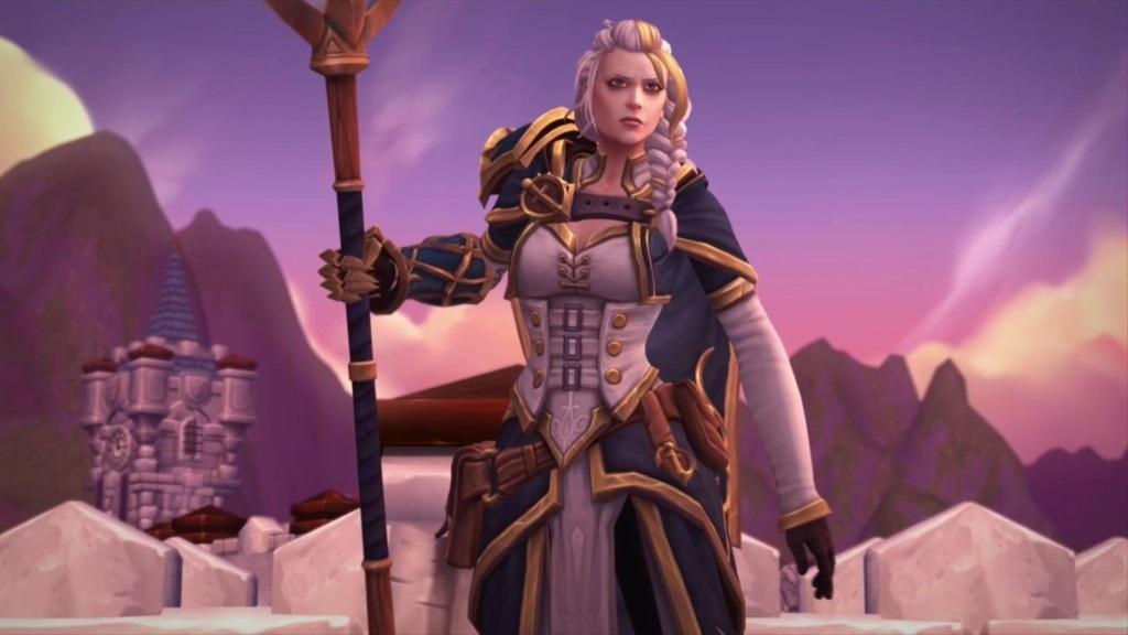 World of Warcraft: Battle for Azeroth; screenshot: Jaina Proudmoore