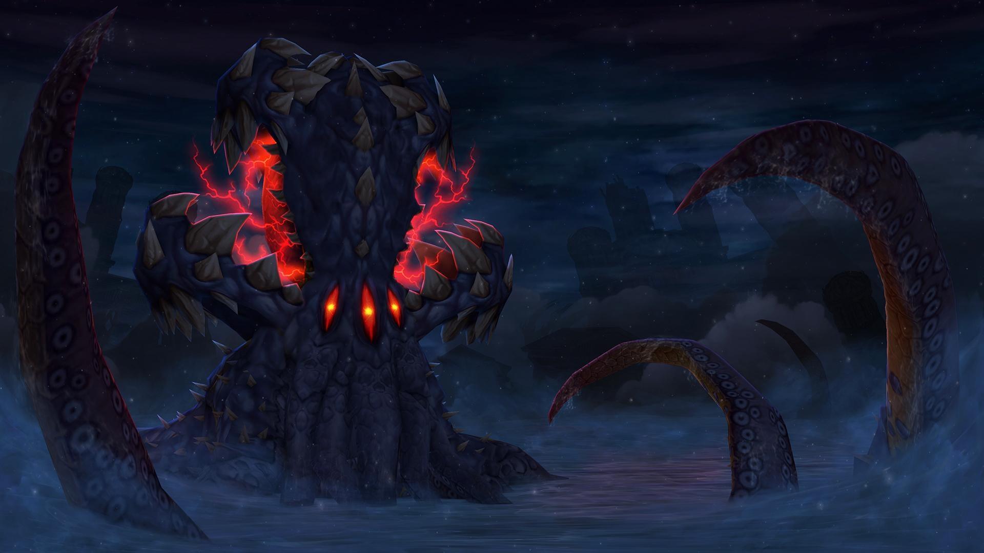 World of Warcraft: Battle for Azeroth; screenshot: N'zoth