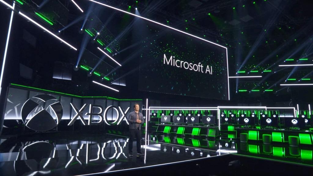 Xbox Two project Scarlett; screenshot: Microsoft E3 2018