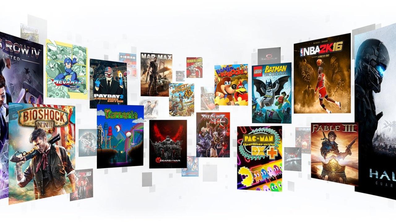 Xbox Game Pass; screenshot: herní tituly