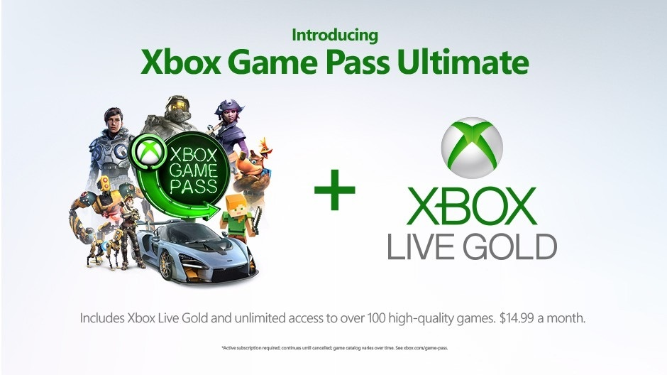 Xbox Game Pass Ultimate; screenshot: cover