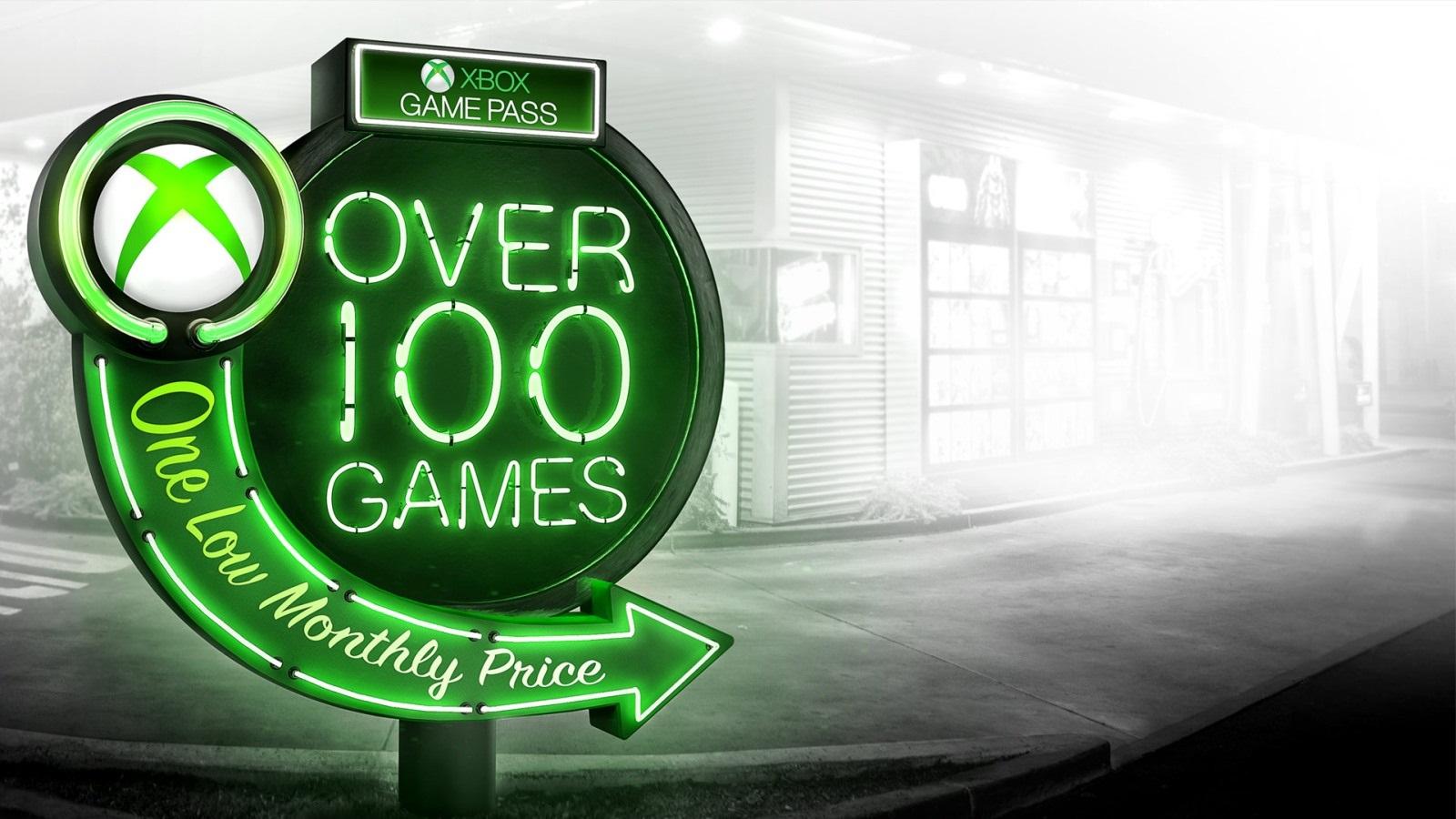 Xbox Game Pass; screenshot: logo
