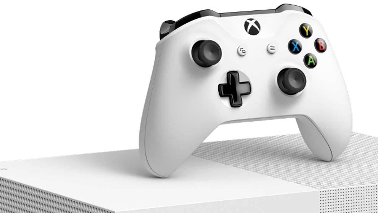 Xbox One S All-Digital Edition; screenshot: ovladač