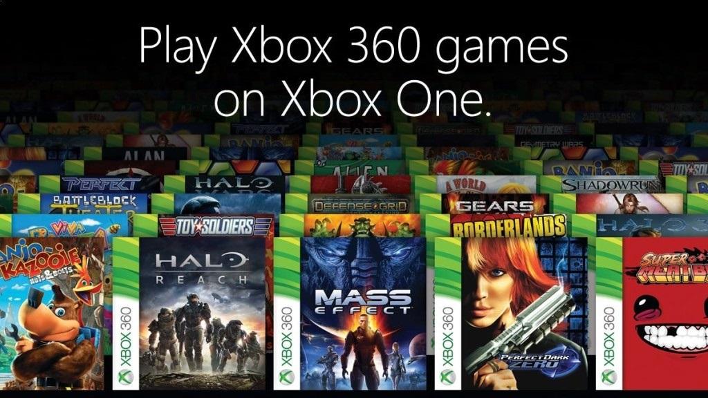 Xbox Two project Scarlett; screenshot: zpětná kompatibilita