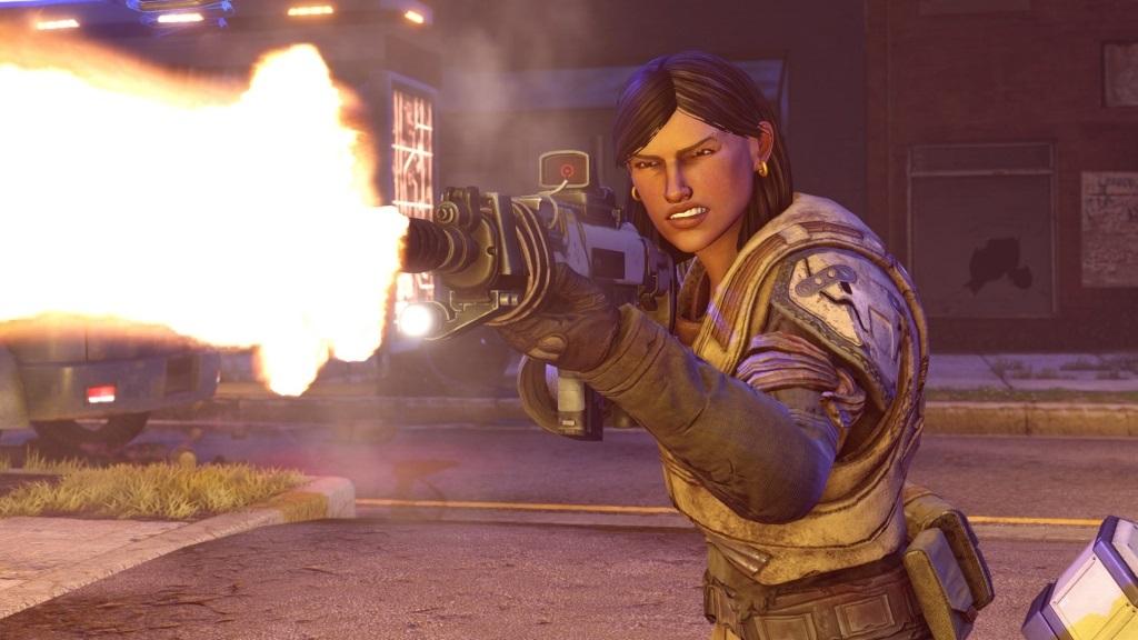 XCOM 2: War of the Chosen; screenshot: střelba