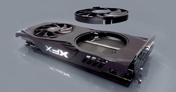 XFX RX 580 GTR-S Black Edition 8GB Hard swap