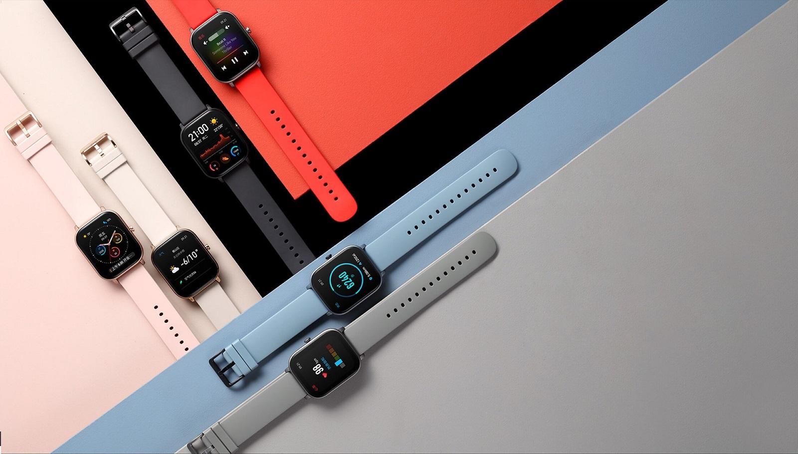 chytre hodinky; smartwatch; amazfit; xiaomi; huami; gts; wearables; nositelna elektronika;